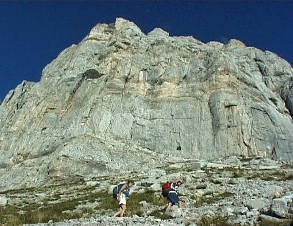grimpée sous Agathe