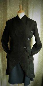 manteau croisé t38