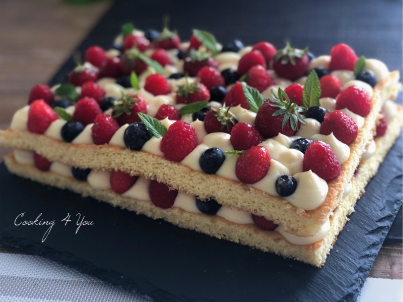 genoise fruits rouge 061