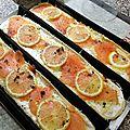 Pizzetta au saumon