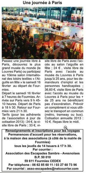 Avesnois News - Vendredi 1er février 2013