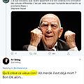 Ari sebag, troll haineux sur twitter, et secrétaire général de la licra
