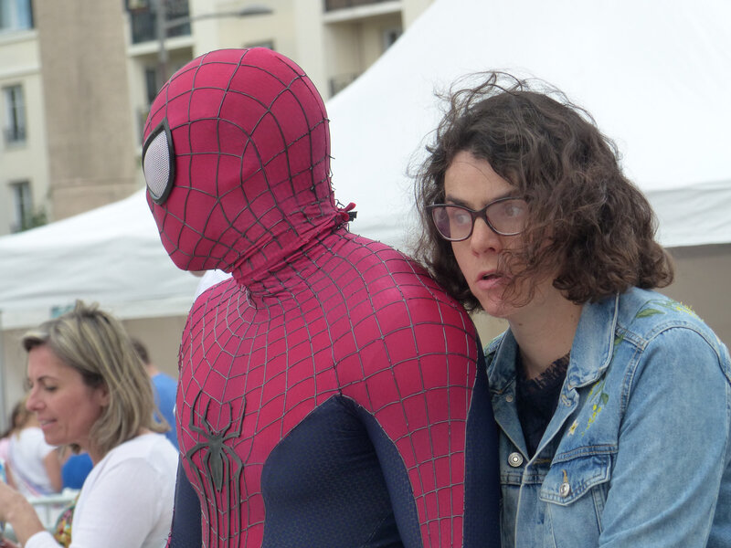 Avec Spiderman