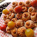 Les bonitos de cocojano ( ou petites bouchées au thon apéritives recette tupperware)