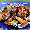 Pommes de terre piquantes au tamarin