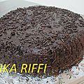 Gâteau au yaourt tout chocolat