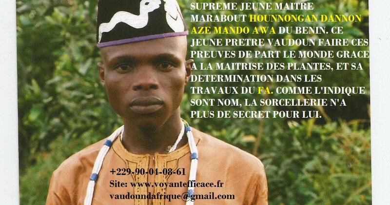 Hounnongan Dannon Amankpo Azé-Mando Awa, le Petit Piment (1)