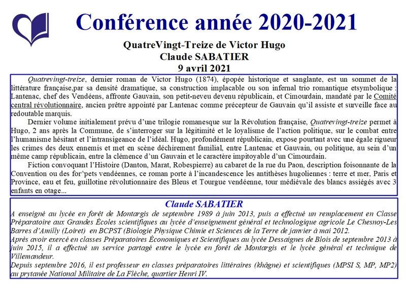 9 - Claude Sabatier