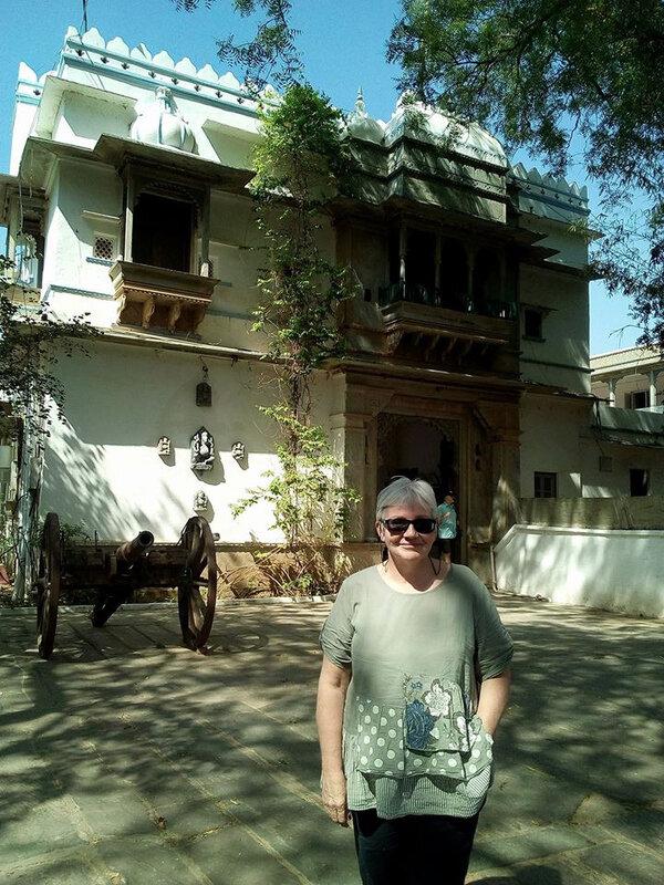 Brigitte en Inde