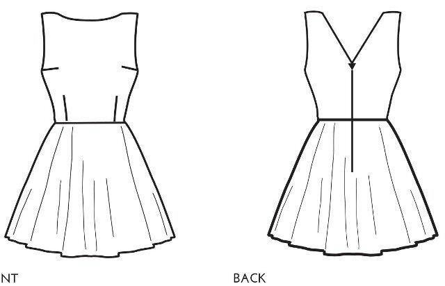 Simple Sew Patterns - Ruby