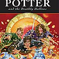 J.k rowling, harry potter and the deathly hallows