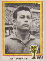 1958 Image Panini Just Fontaine