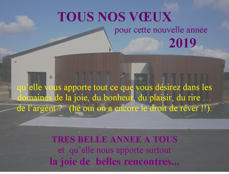 voeux Escale 2019