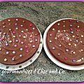 Gateau moelleux aux pepites de chocolat et smarties