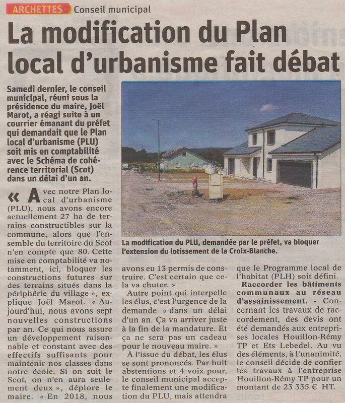 2019 07 27 Plan Urbanisme