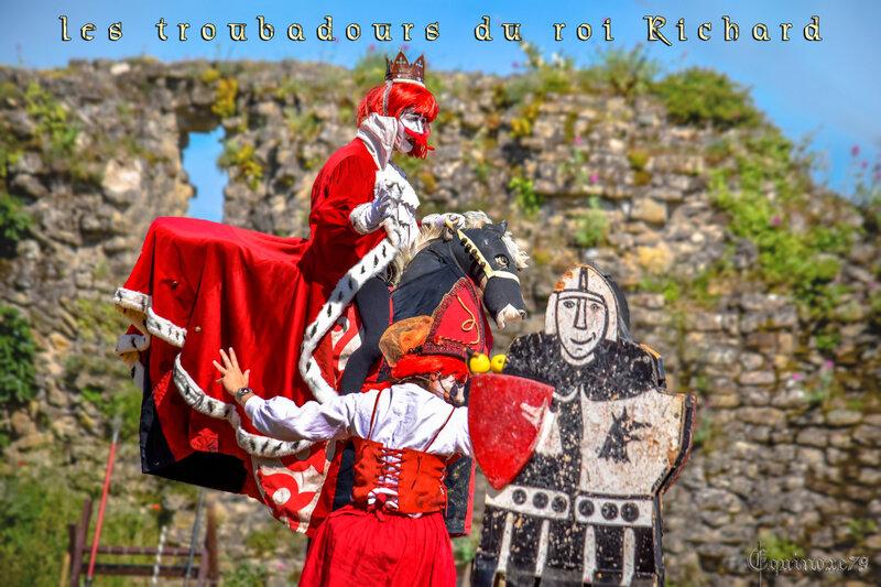 les troubadours du roi Richard Coeur de Lion château de Talmont