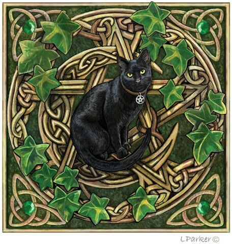 wiccan-pentacle-black-cat-greeting-card-by-lisa-parker-206-p
