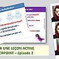 Tutoriel pour créer vos leçons actives sur powerpoint