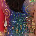 Bodypaint Klimt Dos