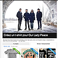Concours our lady peace