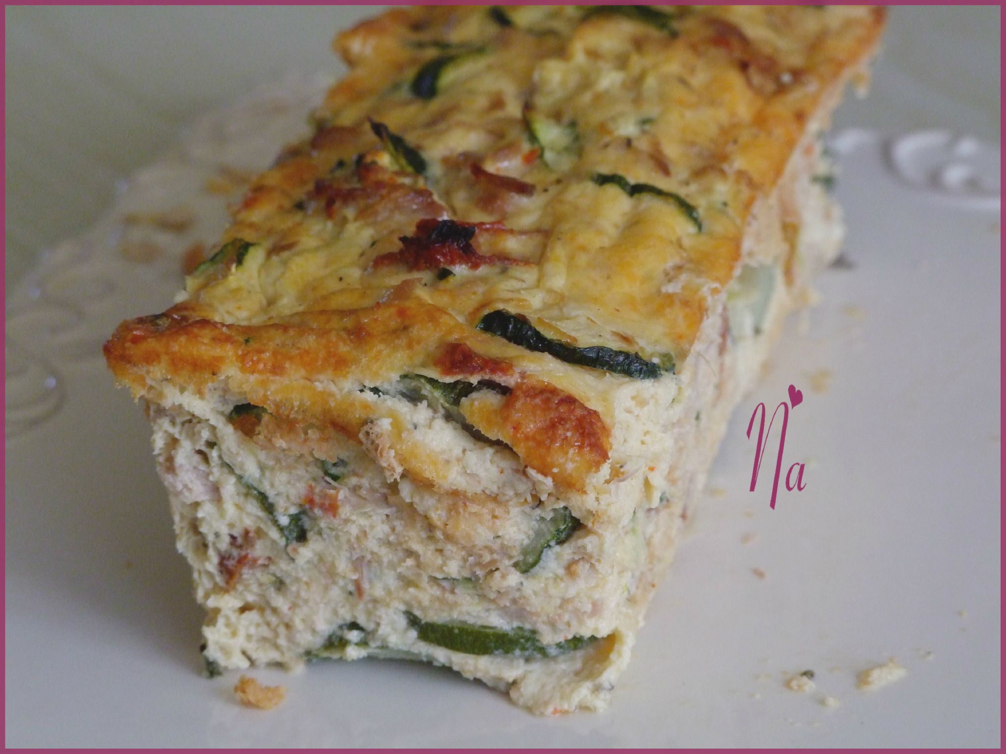 Cake Courgette Surimi Chevre