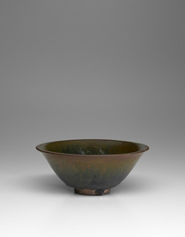 Tea bowl, Southern Song dynasty, 1127-1279, Jian ware