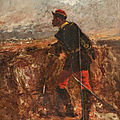 Beauquesne, Soldier painting (1891)