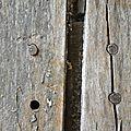 étude de fabrication d une porte louis XIV