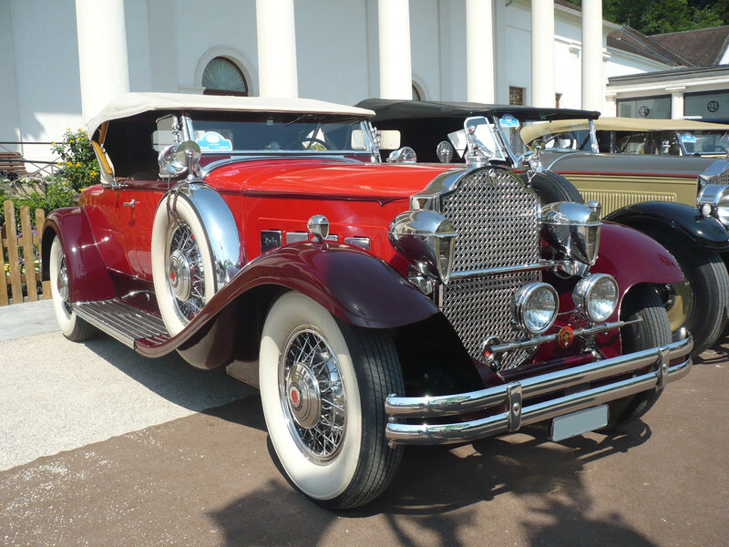 PACKARD Deluxe Eight 840 roadster 1931 Baden Baden (1)