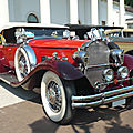 Packard deluxe eight 840 roadster 1931