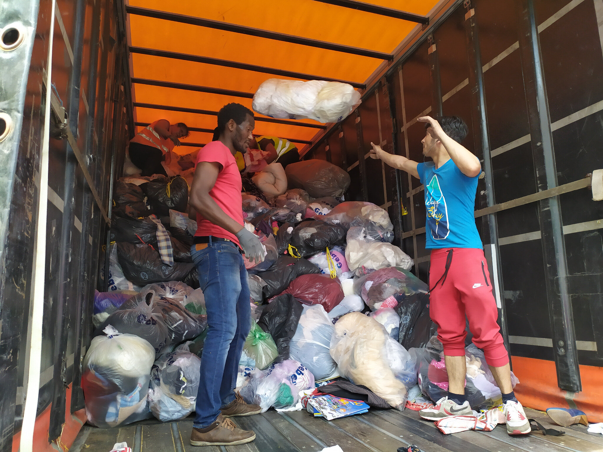 20 tonnes de recyclage industriel par AMELIOR