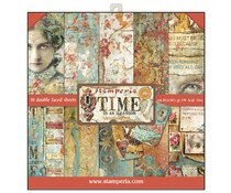 stamperia-time-is-an-illusion-12x12-inch-paper-pad
