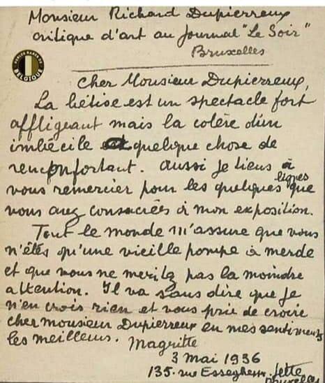 Lettre belge