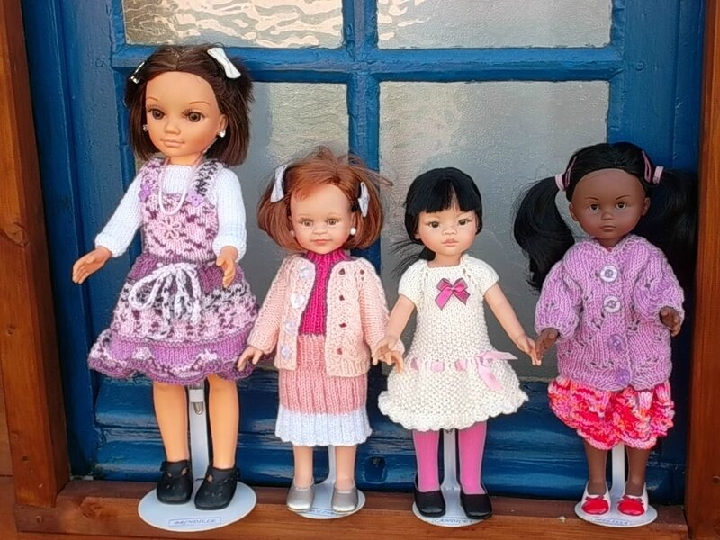 Brindille, Caroline, Candice & Mélissa