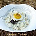 Un produit, deux blogueuses : brunoise de topinambours, à la truffe et parmesan