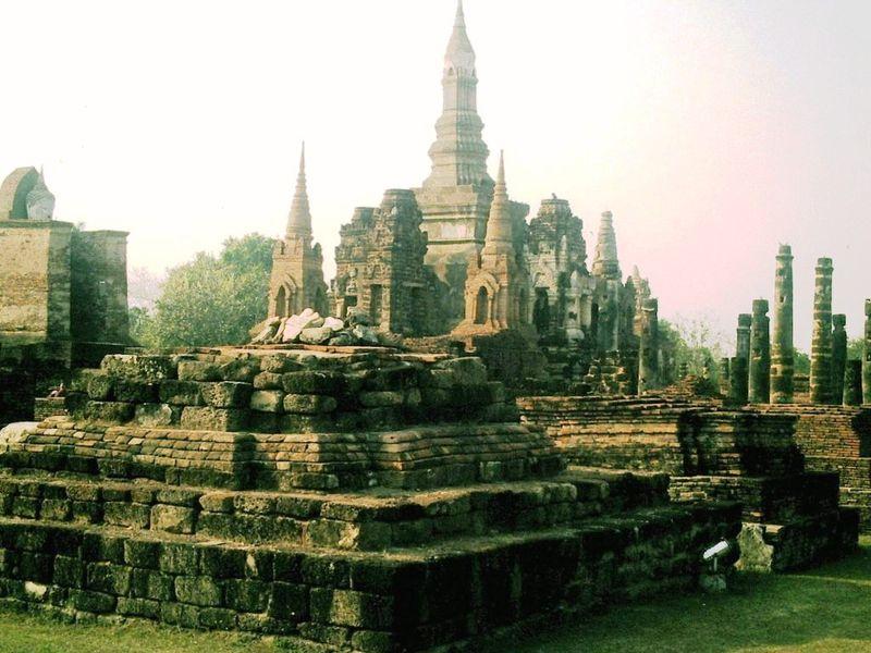Sukhothaï ruines