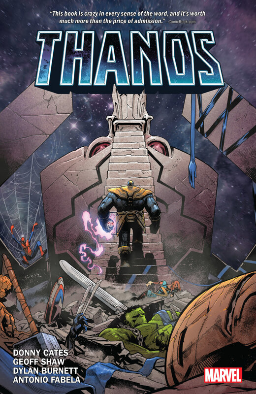 thanos by donny cates HC