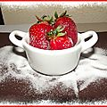 Tarte aux fraises à ma façon...