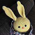 Bleu, le lapin jaune de rose - chouette kit 10