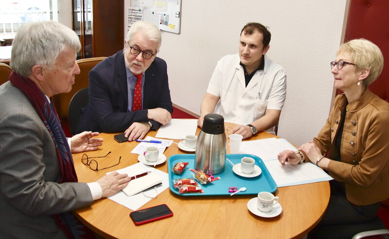CENTRE HOSPITALIER BRISSET 2019 YVES DAUDIGNY discussion