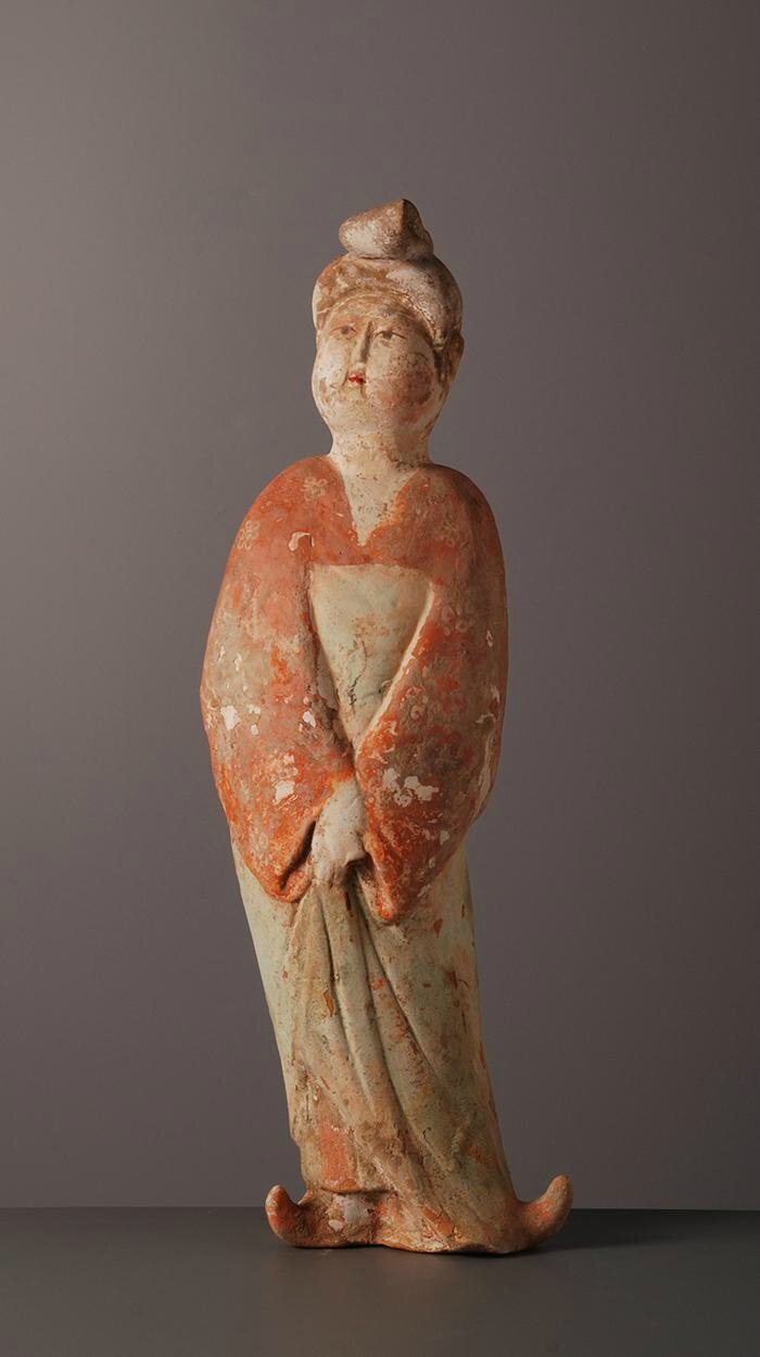 Fat lady, China, Tang Dynasty (618-907)