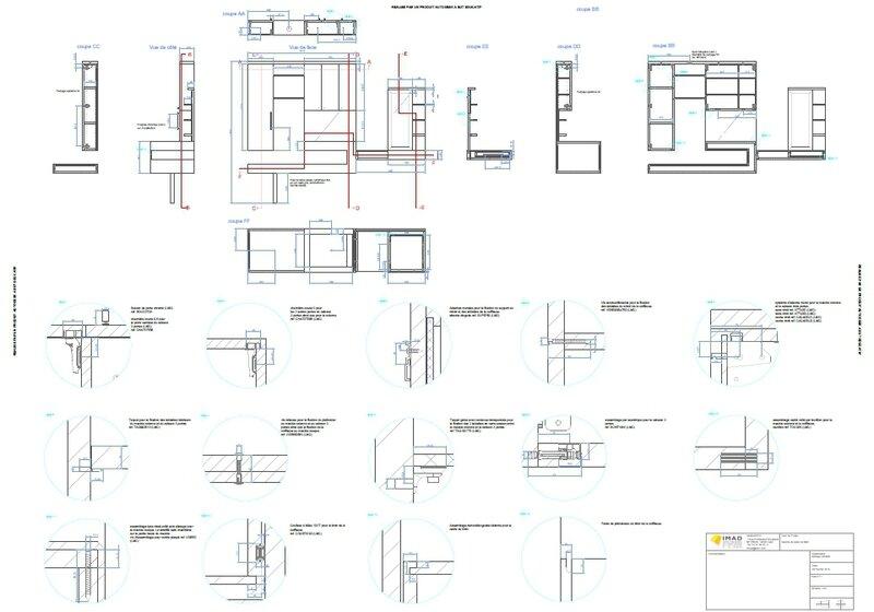 Plan Meuble Salle De Bain Photo De Projets Melissa Vaisse Agenceuse