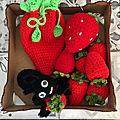 Dernières fraises de la saison