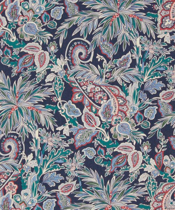 Far Away Paisley navy