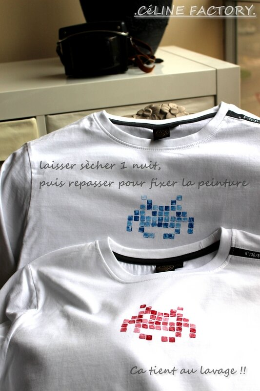 T-shirt Space Invaders 4