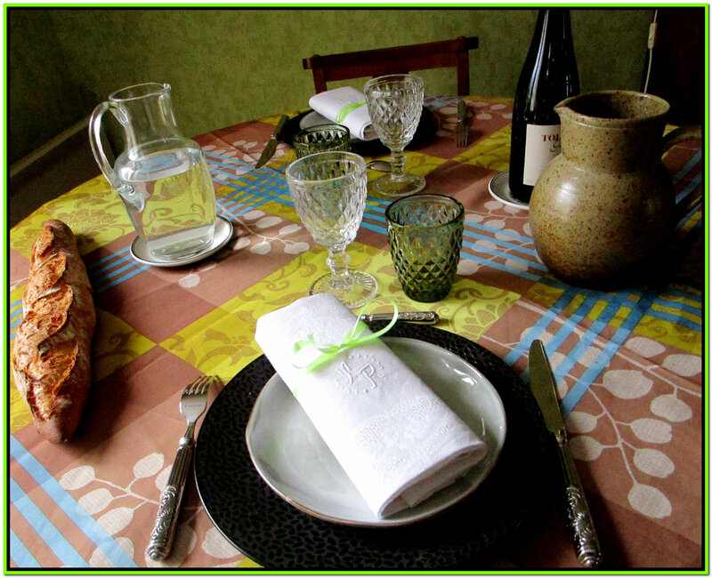 Table baroqueD