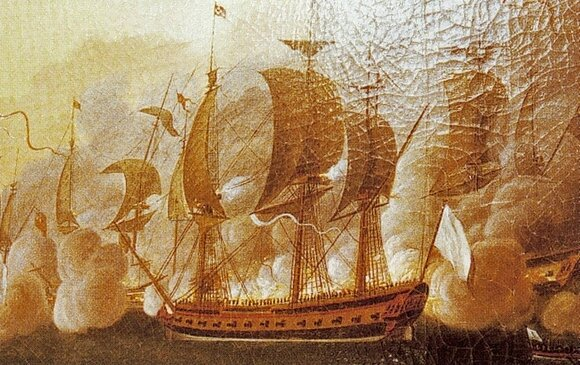 Gilbert du Motier de La Fayette et L' Hermione