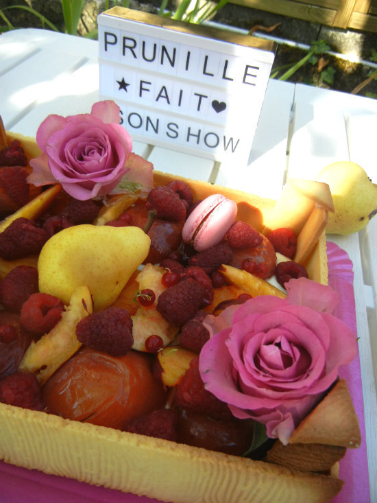 gateau cagette de fruits prunillefee 4
