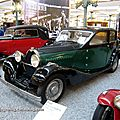 bugatti type 49 berline de 1934 (cité de l'automobile collection schlumpf à mulhouse)