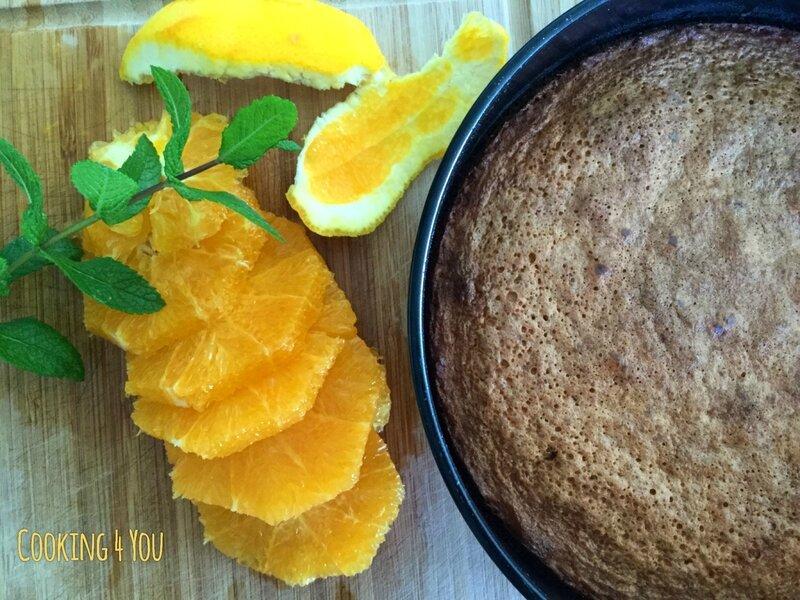 gâteau Péruvien au quinoa et à l'orange 013